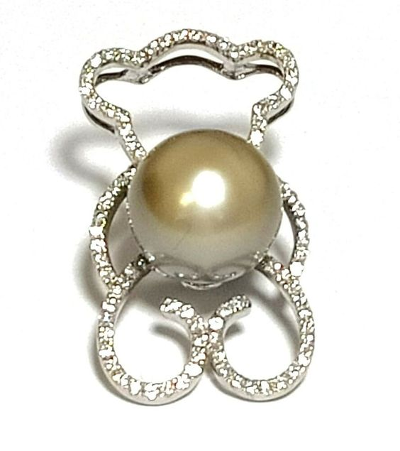 Pink Color 11.3mm Freshwater Pearl Sterling Silver Ring