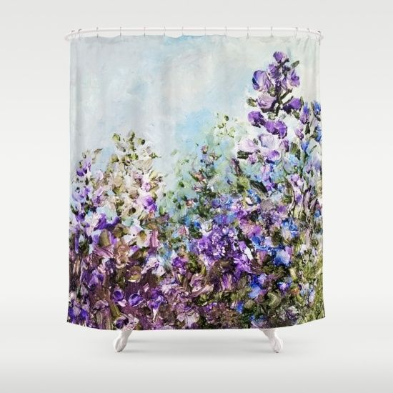 Customize Your Bathroom Decor With Unique Shower Curtains Designed By  Artistsu2026