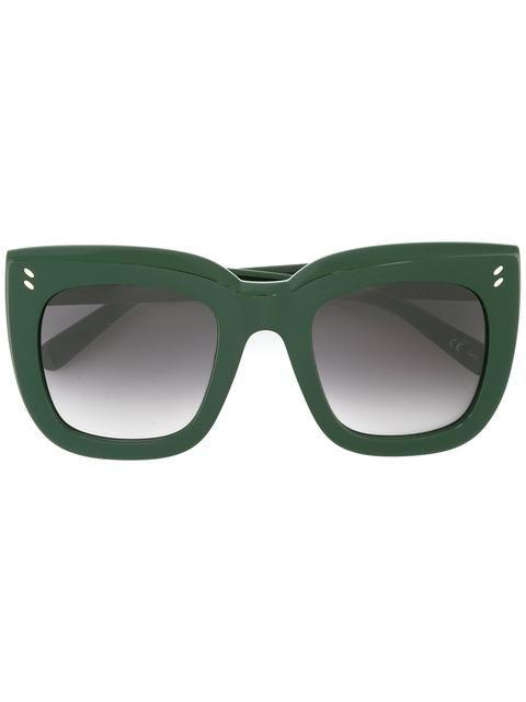 Stella McCartney gafas de sol oversize con montura cuadrada