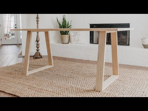 Diy Modern Dining Table With Images Diy Dining Room Table Diy Dining Table Simple Dining Table