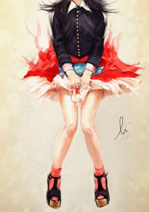 Girl. by skyboar.