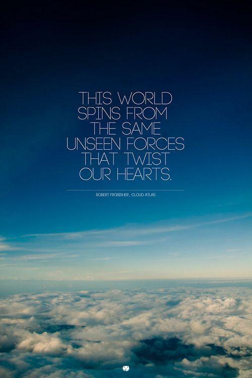 Unseen forces, Cloud Atlas