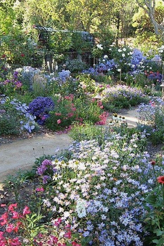 English Meadow Countryside Garden Beautiful Flowers Garden Flower Garden Design Beautiful Gardens