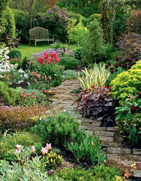 Garden Design Plans Pictures Beautiful English Cottage Garden In Worcestershire English Garden Luxury In 2020 Cottage Garden Design Small Garden Design Garden Layout