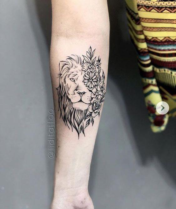 10 Tatoo de leones