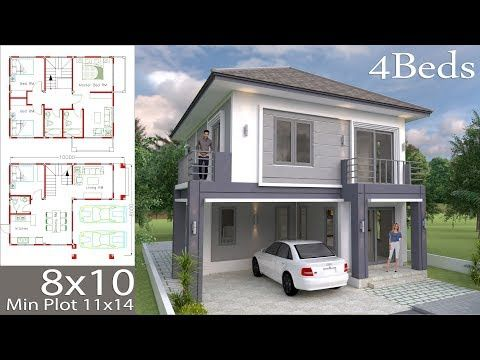 House Plans Idea 7x11 M With 4 Bedroomsinformation You Should Know Of The Model 2p 52living Area Of The Building Home Design Plan House Design House Plans