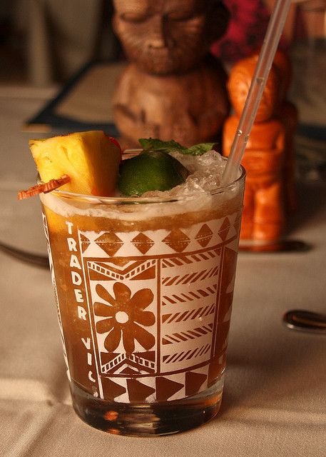 Trader Vic's Mai Tai--the big Kahuna of Mai Tais