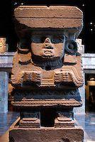 Chalchiutlicue. Aztec. Sala Mexica. Museo Nacional de Antropologia, Mexico.  John Mitchell Stock Photography
