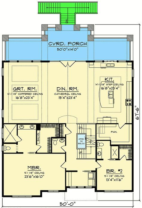 Plan 890067ah Craftsman House Plan For A View Lot Lake House Plans House Plans New House Plans