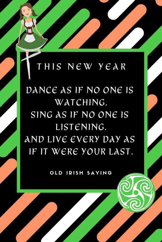 Happy New Year In Irish Irish American Mom Irish American Mom Irish Happy New Year
