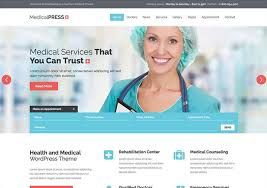 Image result for web template wordpress for medicine and beauty