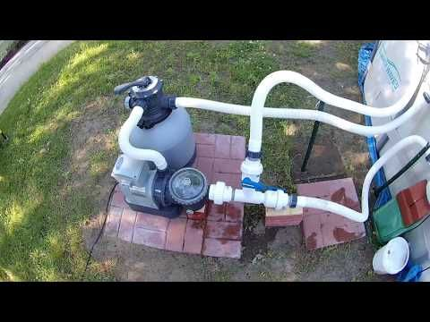 Summer Waves Elite Pool Upgrade Conversion To Intex Sand Filter W