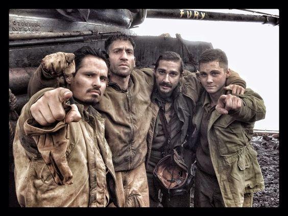 Fury film   Brad Pitt Fury Movie Trailer