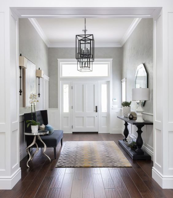 Foyer Furniture - small couch and console table - House of ...