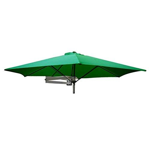 Ylln Parasols Wall Mount Patio Umbrella With Aluminium Pole Outdoor Garden Balcony Tilting S In 2020 Patio Umbrella Patio Umbrella