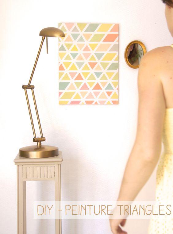 Hello la compagnie ! J'ai un châssis magnétiquevierge au mur (sur lequel trônent fièrement 2 post-it) et j'ai eu envie d'égayer un peu tout ça ! Voici la palette de couleur qui me faisaitenvie, je suis partie d'une couleur chairà laquellej'ai ajouté des pointesde rouge, vert, bleu, jaune…ce qui leur donne une teinteun peu vieillie. …