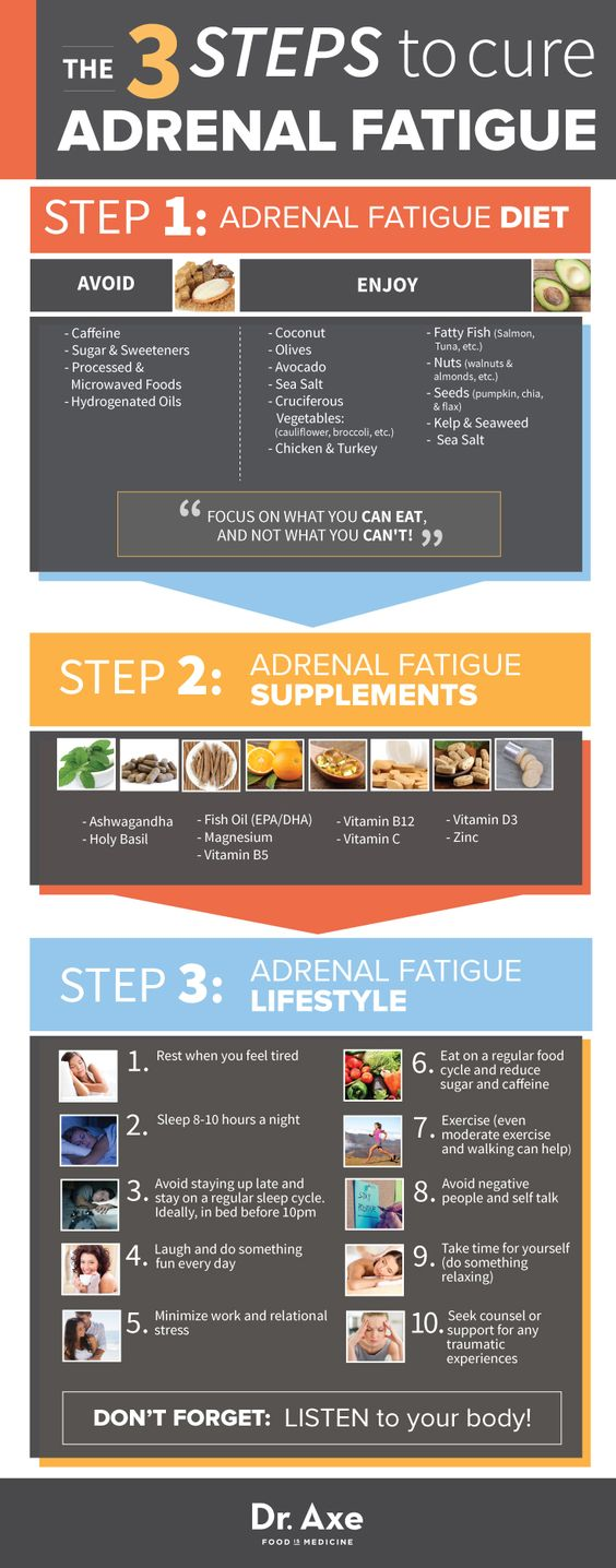 Steps to Heal Adrenal Fatigue http://www.draxe.com #health #holistic #natural:
