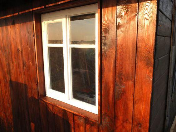 Renovierung der Gartenlaube Teil 3 – Rückwand erneuern und Fenster einbauen