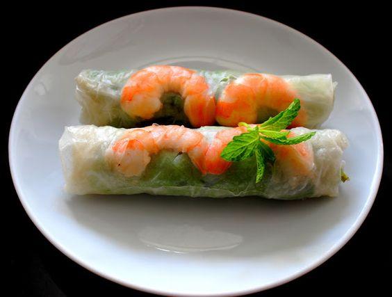 Invitations aux voyages culinaires: R74 - Les Rouleaux De Printemps, la recette