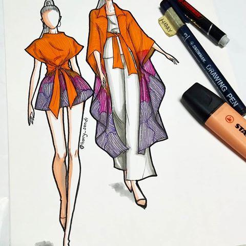 Harry Sandi Harry Sandi Instagram Fotograflari Ve Videolari In 2020 Fashion Design Drawings Fashion Design Sketchbook Fashion Design Sketches