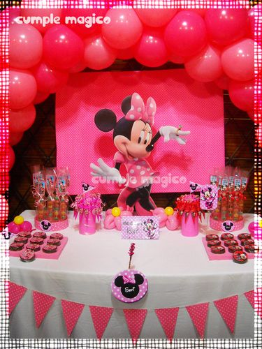 decoraci n para cumplea os ambientaci n minnie cumple