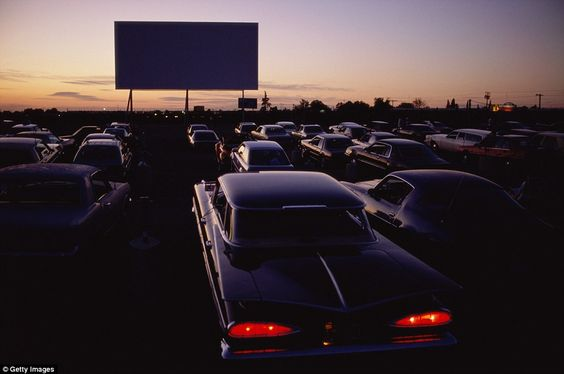 In the late 60s as colour television became the ultimate status symbol for aspirational consumers and movie theatres offered an appealing alternative to drive-ins, more and more plots disappeared from the map, replaced by malls and parking lots: