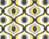 Michael Miller Fabric- Feeling Groovy in Citron