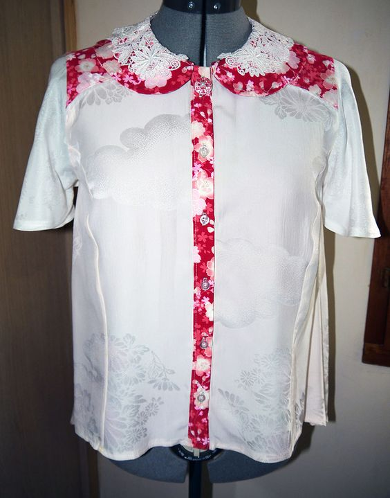 Sanagi Atelier clothes collection Japanese coton and kimono