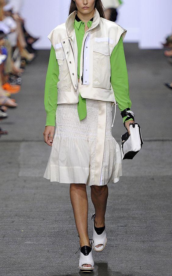 Rag & Bone Dutch Vest  love the lime green