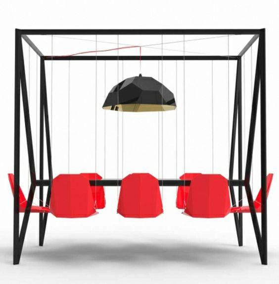 schwarzer esstisch inspiration bild der fecceedbb swing chairs hanging chairs