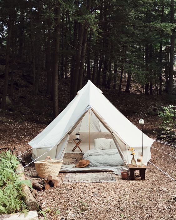 Unplugged: A Young Couple's DIY, Totally Off-the-Grid Cabin in the New Hampshire Woods - Remodelista
