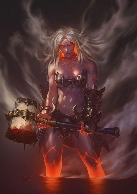 Hileia, deusa da fúria