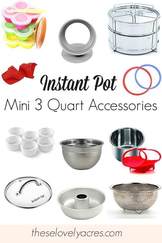 Instant Pot Mini 3 Quart Accessories Instantpotminiaccessories 3qtinstantpot Instantpot Instant Pot Instant Pot Recipes Small Instant Pot