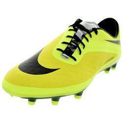 Nike Men's Hypervenom Phatal FG Soccer Cleat (00823233896017) Nike Men's Hypervenom Phatal FG Vbrnt Yllw/Blk/Mtllc Slvr/Vlt Soccer Cleat 7 Men US