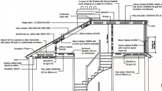 Loft Conversion London Architectdrawing1 Jpg 610 343 Loft Conversion Loft Conversion Drawings Dormer Loft Conversion