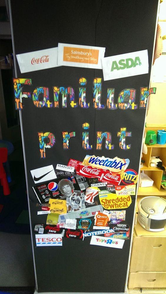 Our Nursery familiar text board