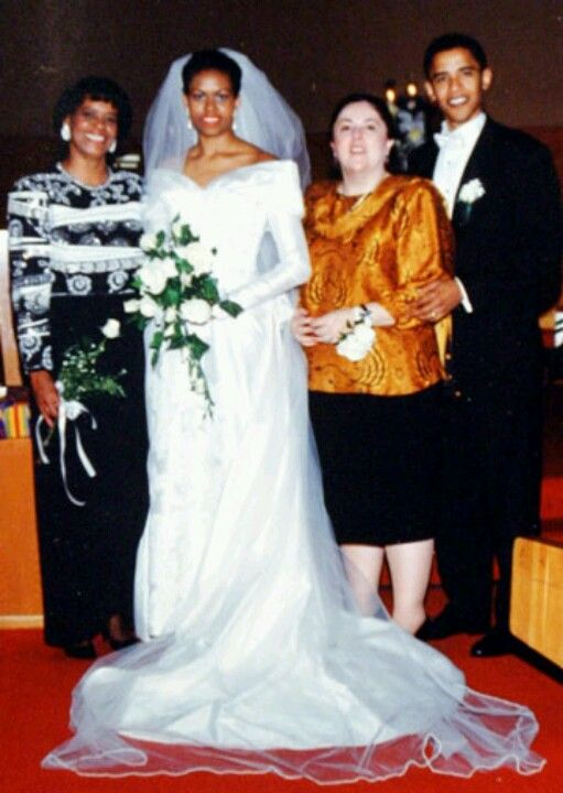 Resultado de imagen para boda de barack obama