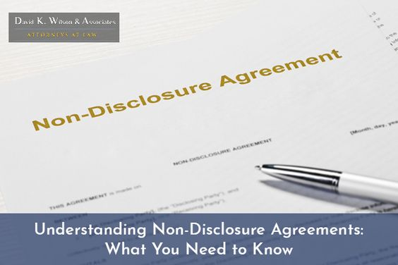 Understanding non-disclosure agreements is critical whether you - confidential disclosure agreements