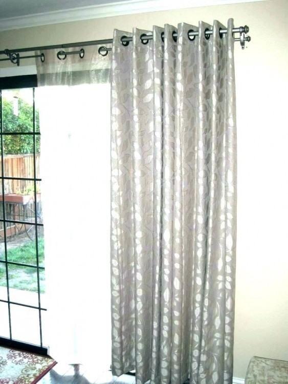 Kitchen Sliding Door Curtain Ideas Sliding Glass Door Curtains
