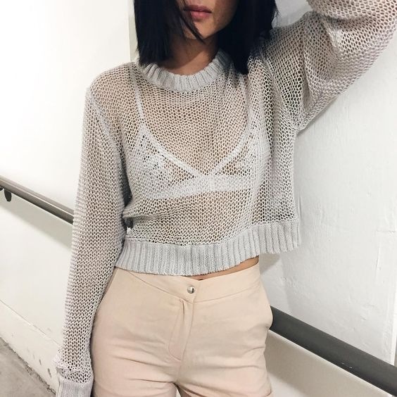 Blogger Natalie Liao in her Florette Bralette: