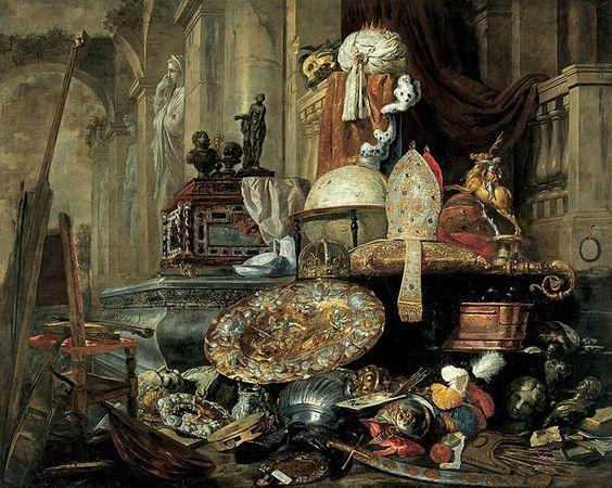 Pieter Boel - Allegorie van de vergankelijkheid van de wereld in het Museum voor Schone Kunsten in Rijsel