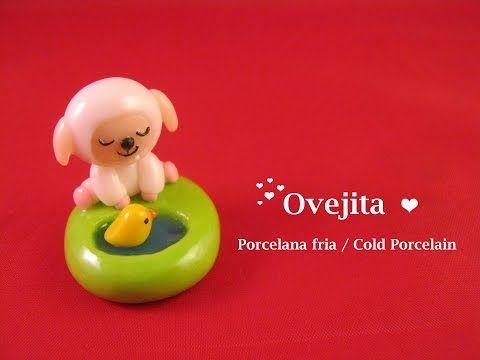 Ovejita En Porcelana Fria / Cold Porcelain - YouTube