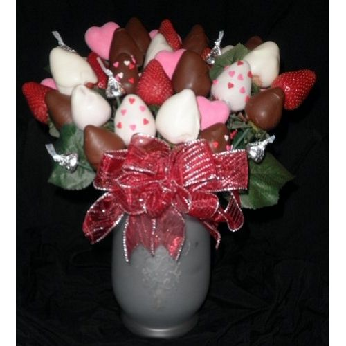 Chocolate Covered Strawberry Bouquet Baking Items