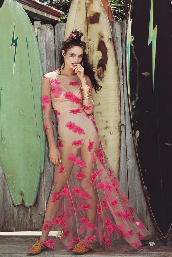 ORCHID MAXI DRESS – For Love & Lemons | Rehearsal Dinner Dress