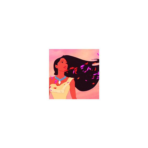 Pocahontas icon - use :D ❤ liked on Polyvore featuring disney, pocahontas, disney icons, icons and square icons