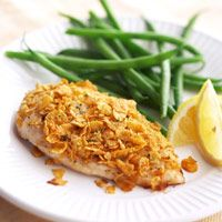 Honey-Ginger Crusted Chicken at only 127 calories a serving