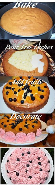 """Tres Leches Cake"""