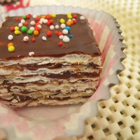 עוגת מצות עם שוקולד / צילום : ניקי ב