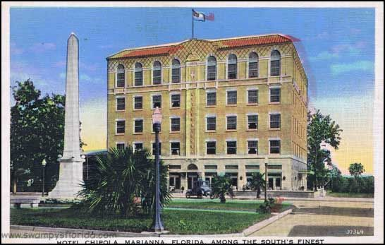 Swampy S Postcard Saay Hotel Chipola Marianna Florida 1930s Http Swampysflorida P 5728 Jackson County Pinterest