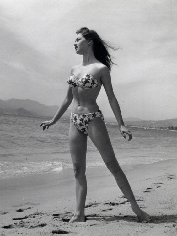 Brigitte Bardot at Cannes, 1953: